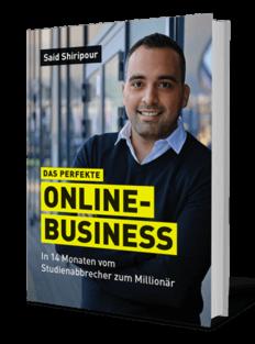 Said Shiripour Bücher - Das perfekte Online Business